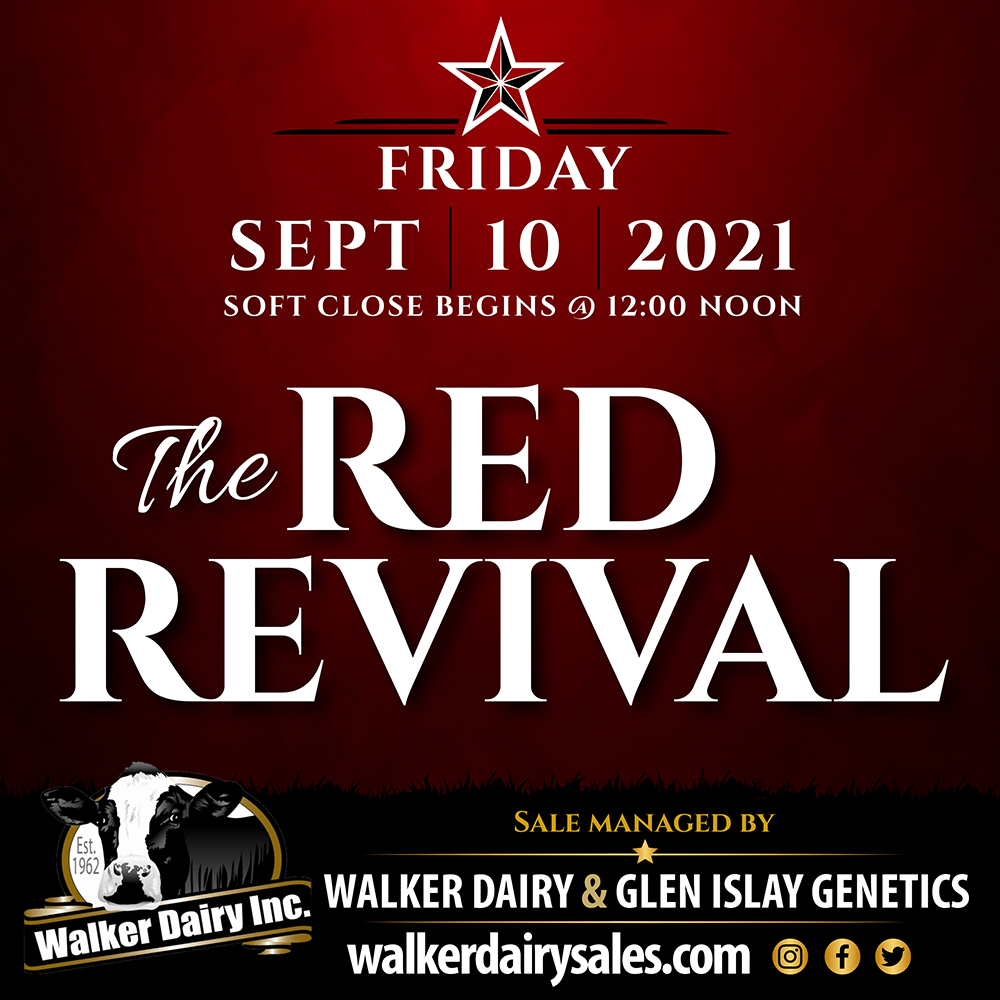 The Red Revival auction by Walker Dairy Inc